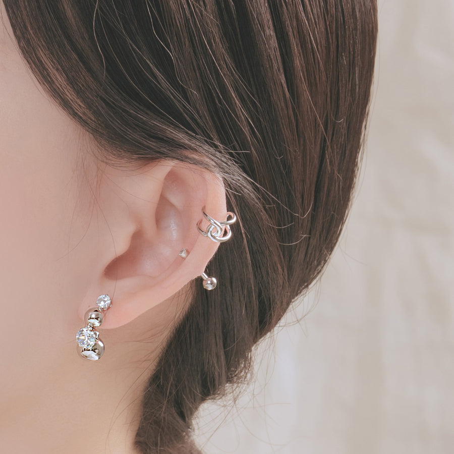 Shining Mirror Earring