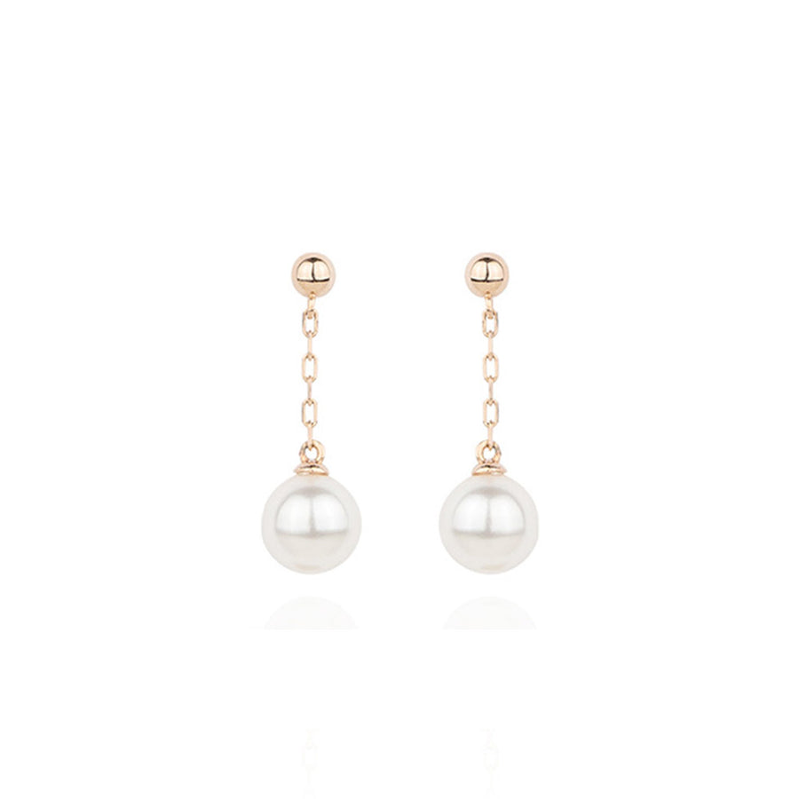 [19% OFF SALE] [14K GOLD] Prince Pearl Drop Earring