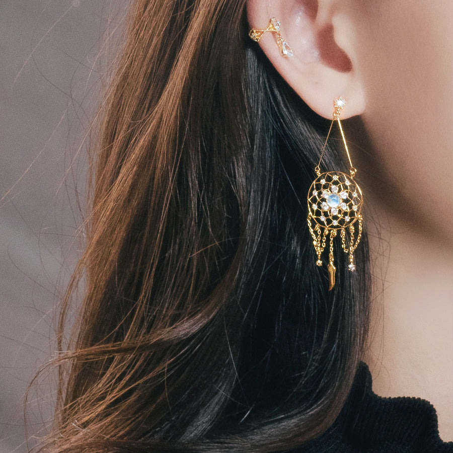 ALIKA DREAM CATCHER Earring