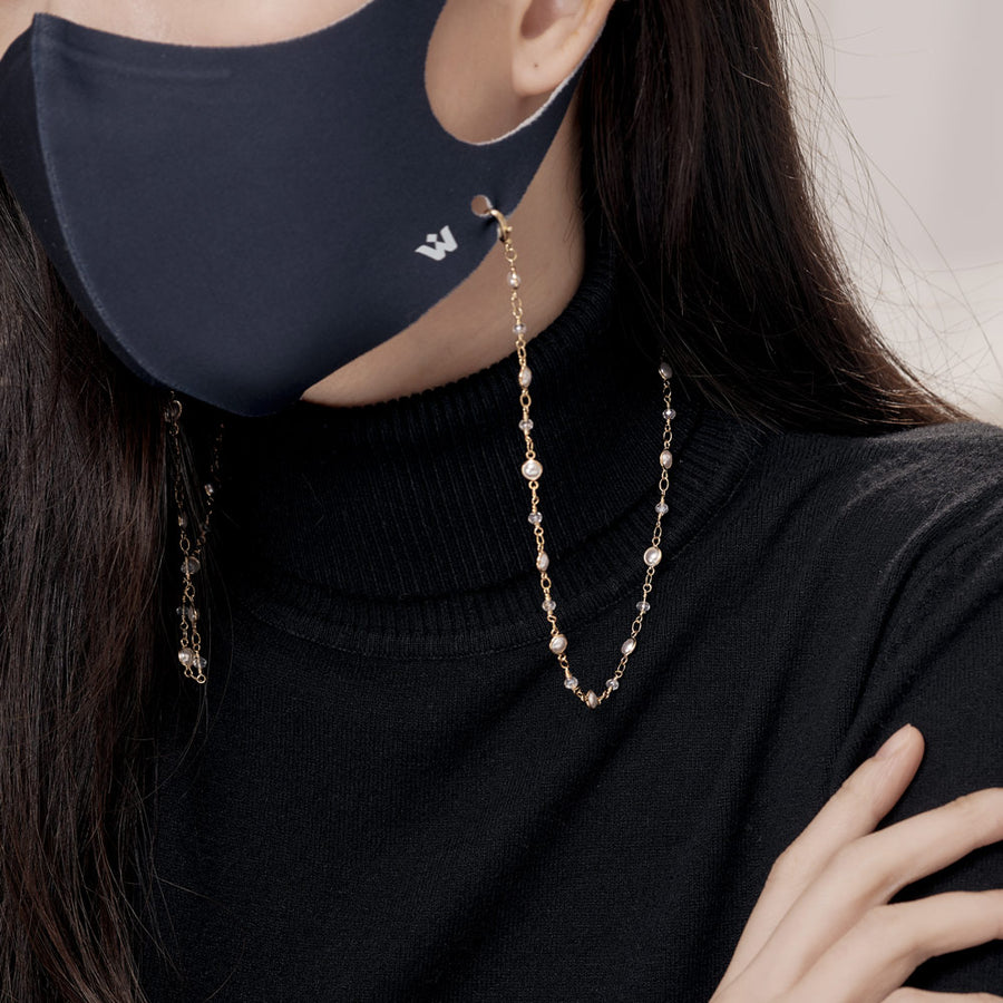 Obli Face Mask Chain Strap Holder
