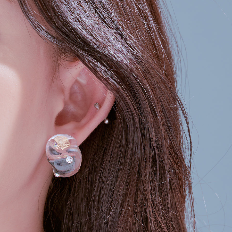 Shine Wave Earring