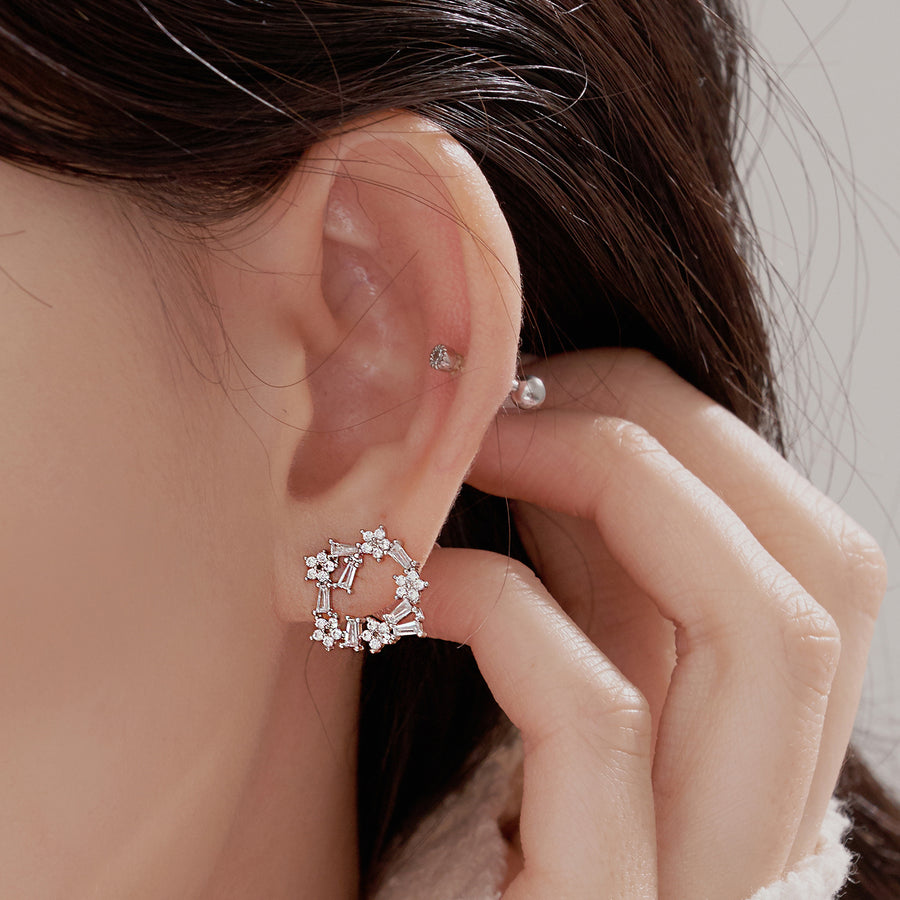 Flower Peace Earring