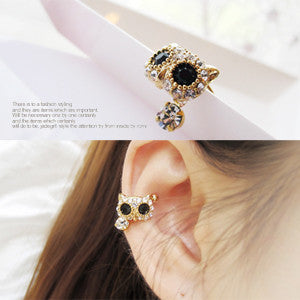 BABY OWL earcuff - Wingbling Global