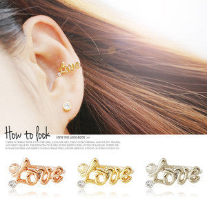 LOVE Ear Cuff - Wingbling Global