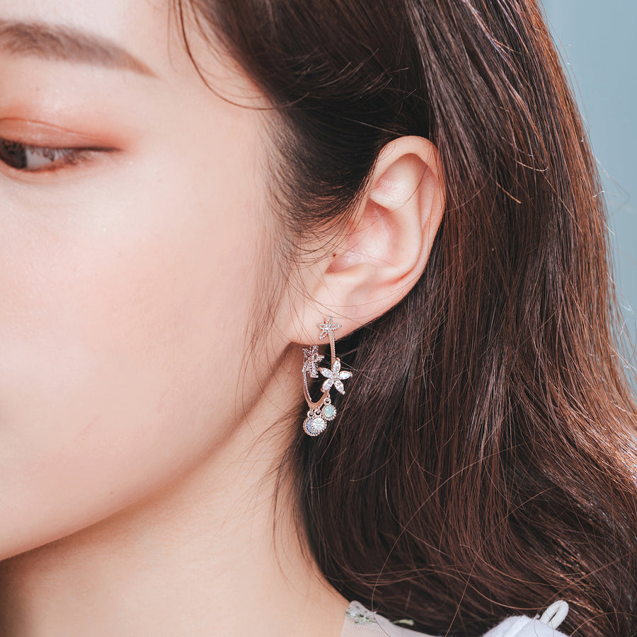 FLOWER FLUTTER Earring - Wingbling Global