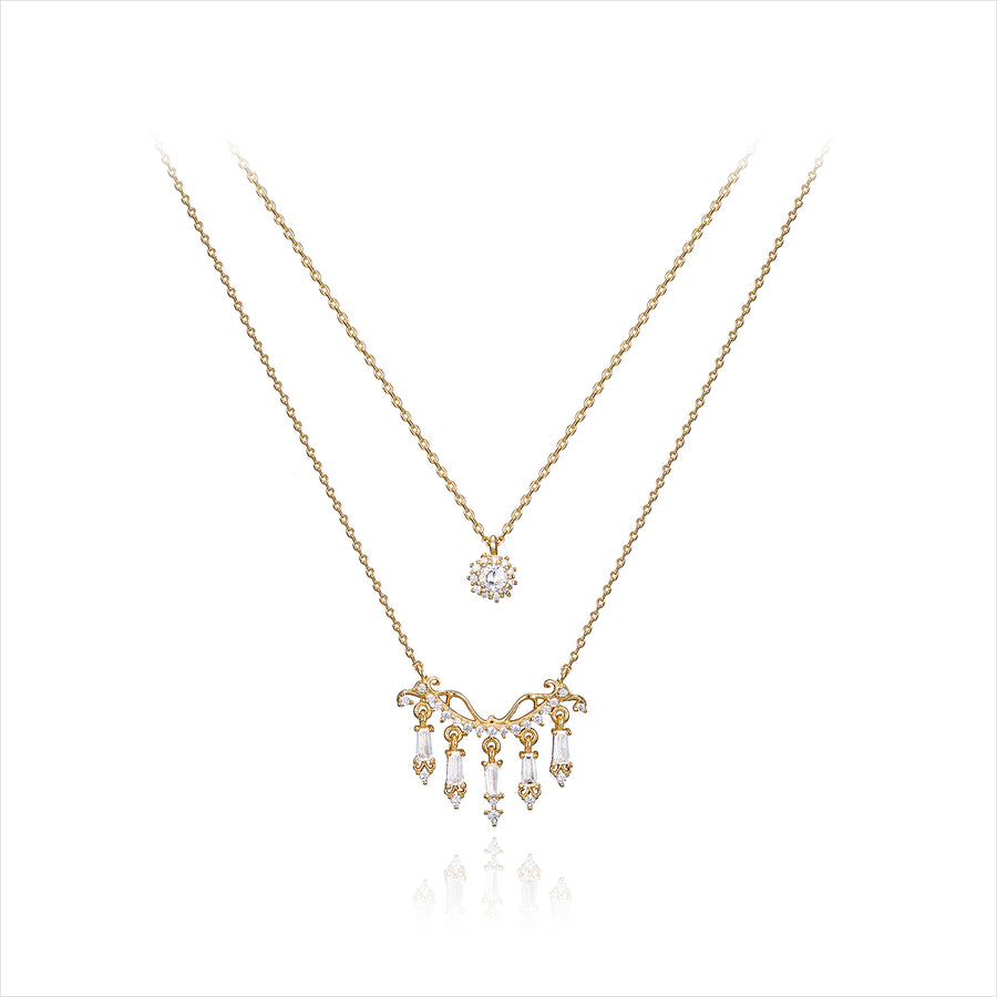 ELLUA CHANDELIER Necklace Set