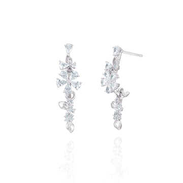 Blooming Flowers Earring