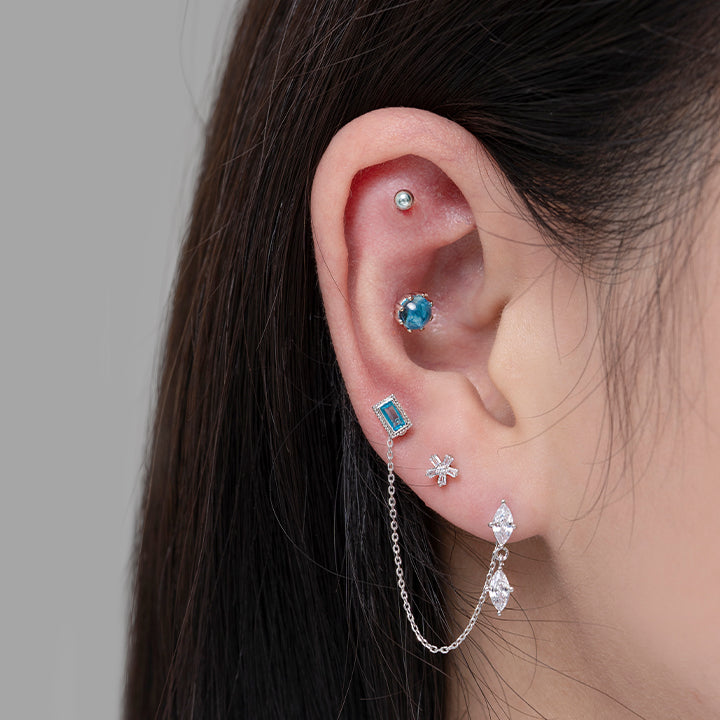 Soft Blue Piercing