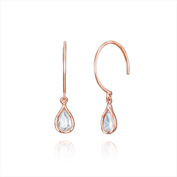 [925 Silver] Romantic Drop Earring