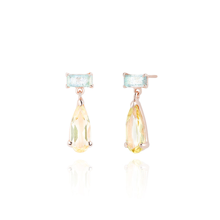 925 silver Bright Mirror Earring