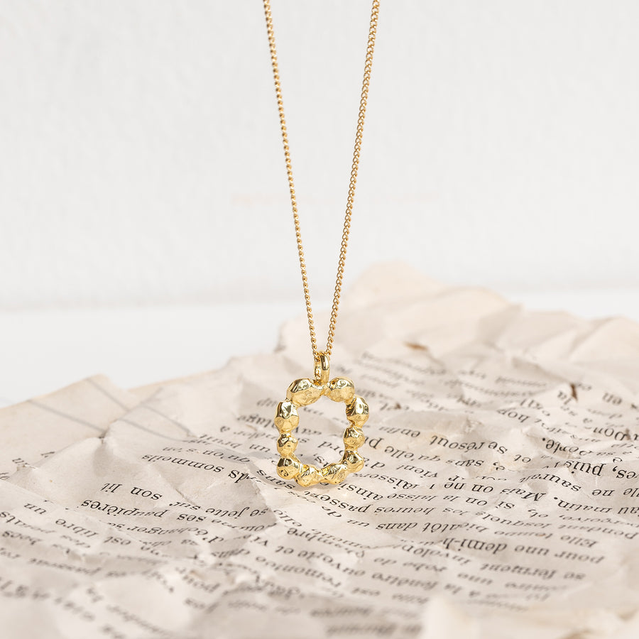 Mono Frame Necklace