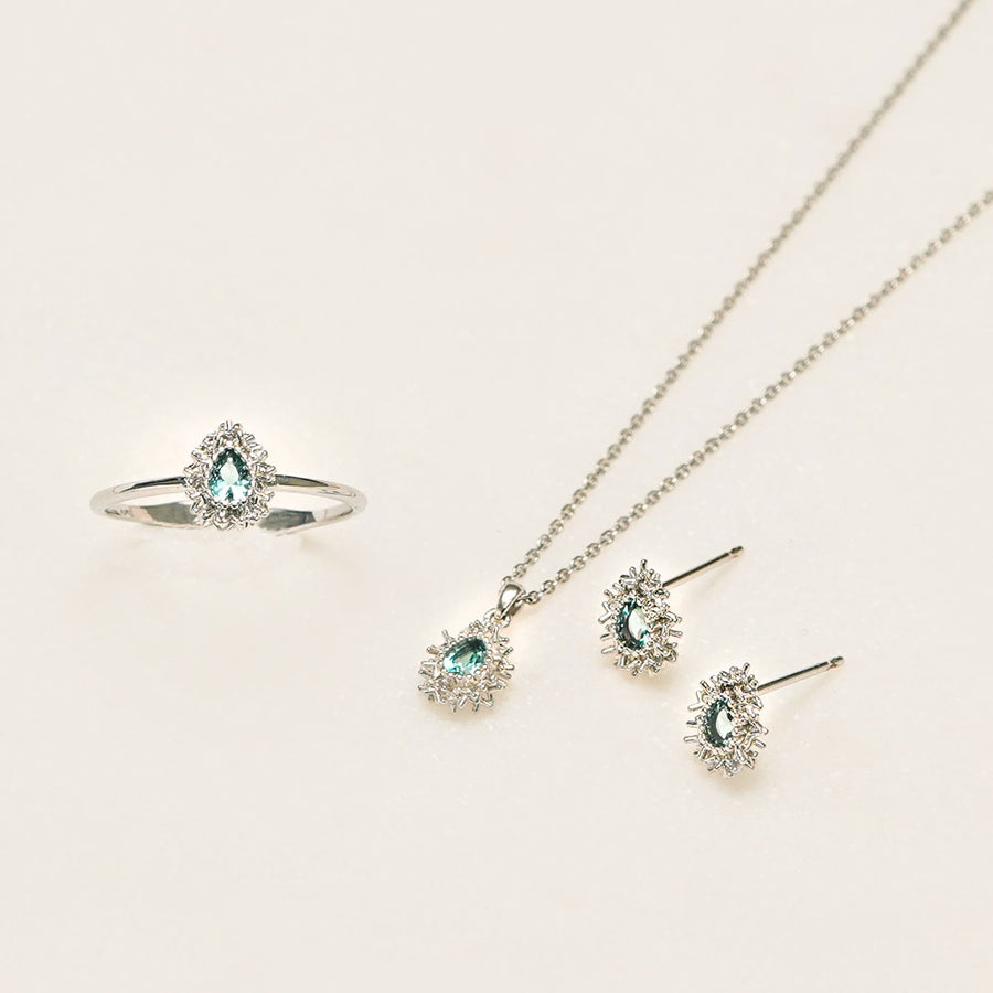 [925 silver]Twinkle Day Necklace