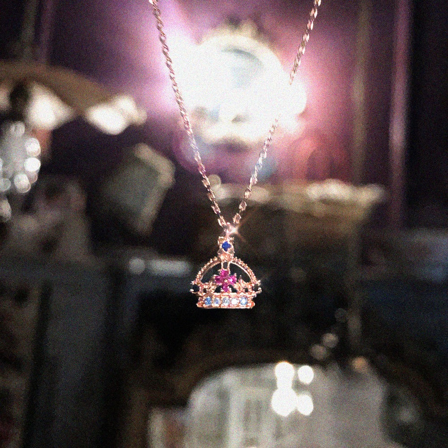 ROYAL CROWN Necklace (London Series)