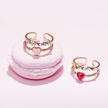 LOVE BEAM Ring (swarovski) - Wingbling Global