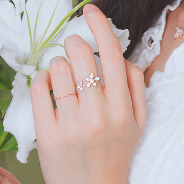 LILY BLOSSOM Ring - Wingbling Global