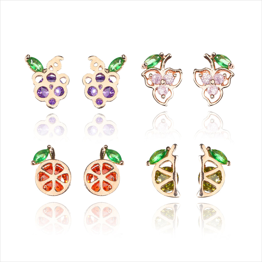 Fresh Moment Petit Earrings SET (2pairs for 1 Set)