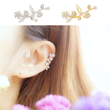 SWEET FLOWER Ear Cuff - Wingbling Global