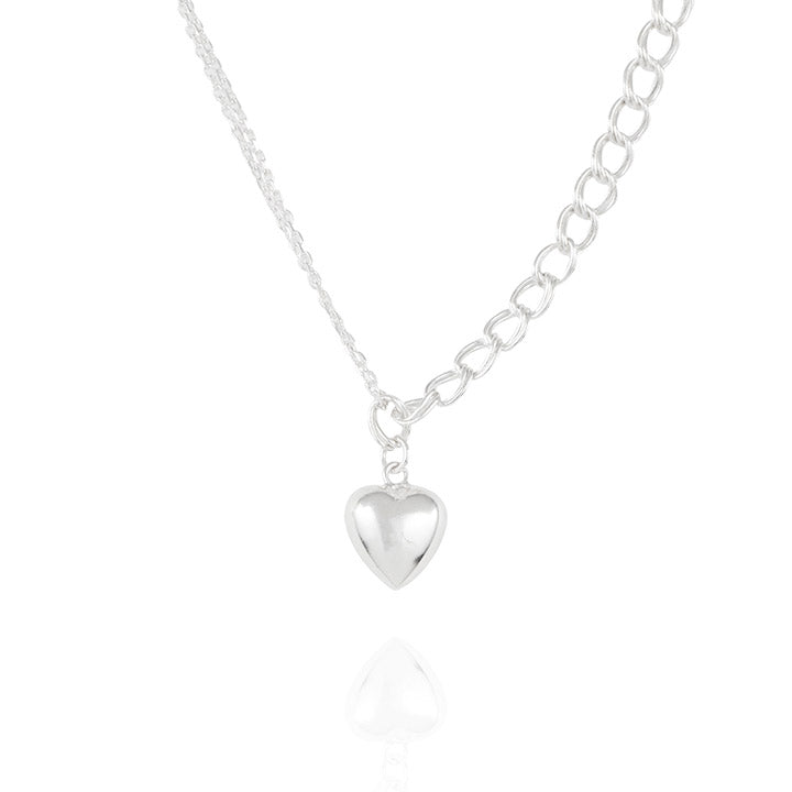 925 silver Grace Heart Necklace