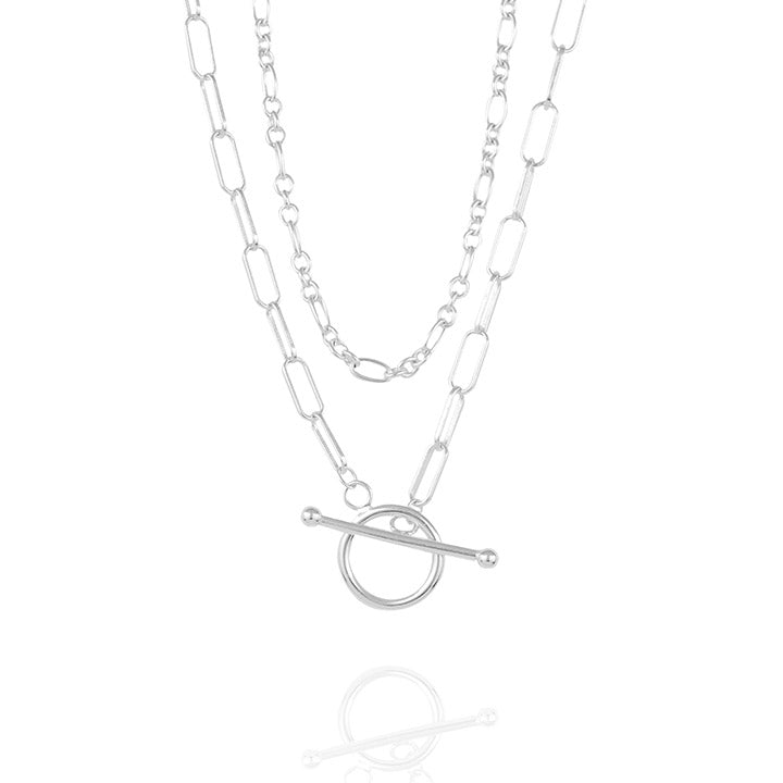 925 silver Grace Toggle clasps Necklace