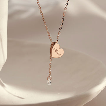 [40% OFF SALE][14K Gold] Merci Necklace