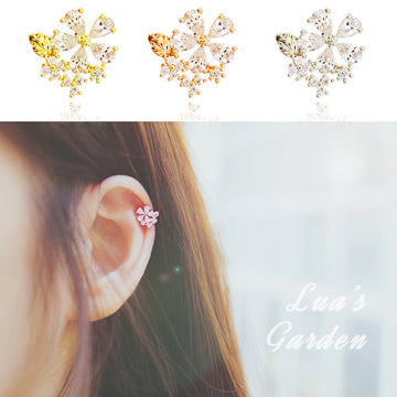 LUA'S GARDEN Ear Cuff - Wingbling Global