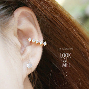 CANNES 1 (LE MIEL) Ear Cuff - Wingbling Global
