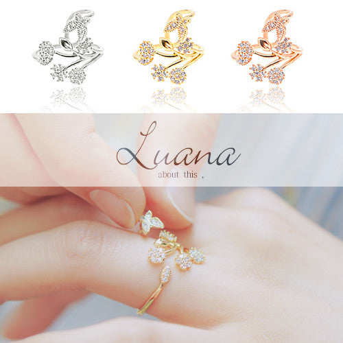 LUANA Ring (free size) - Wingbling Global