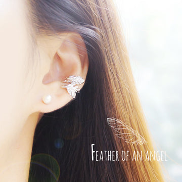 FEATHER OF AN ANGEL Ear Cuff - Wingbling Global