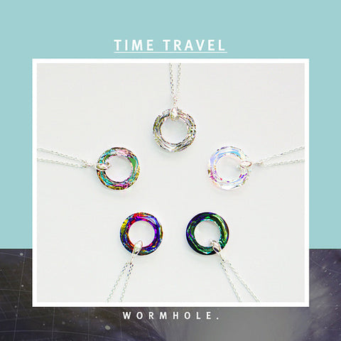TIME TRAVEL Necklace