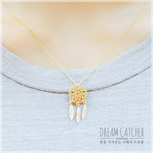DREAMCATCHER 1 Necklace - Wingbling Global