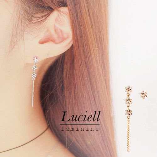 LUCIELL Earring (silver pin) - Wingbling Global