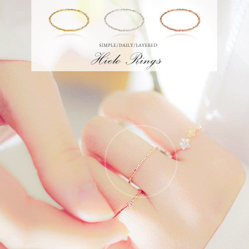 IELO Ring[Thin Ring][Layered Ring] - Wingbling Global