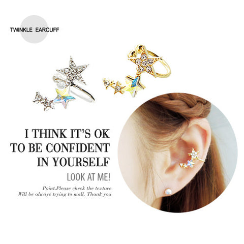 TWINKLE INNER CONCH Ear Cuff - Wingbling Global