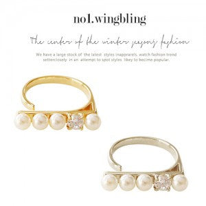 AGATHA Ring (free size) - Wingbling Global