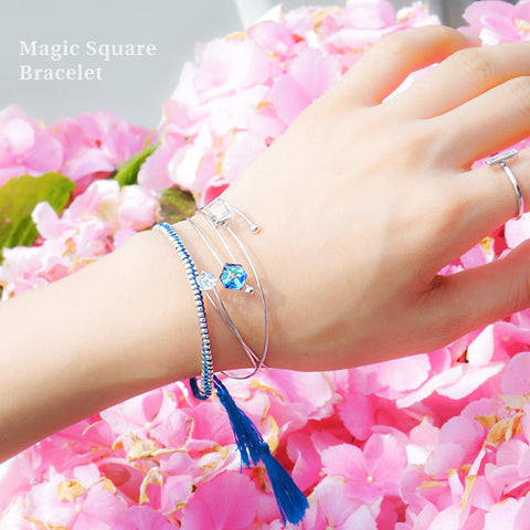 MAGIC SQUARE Bracelet (swarovski) - Wingbling Global