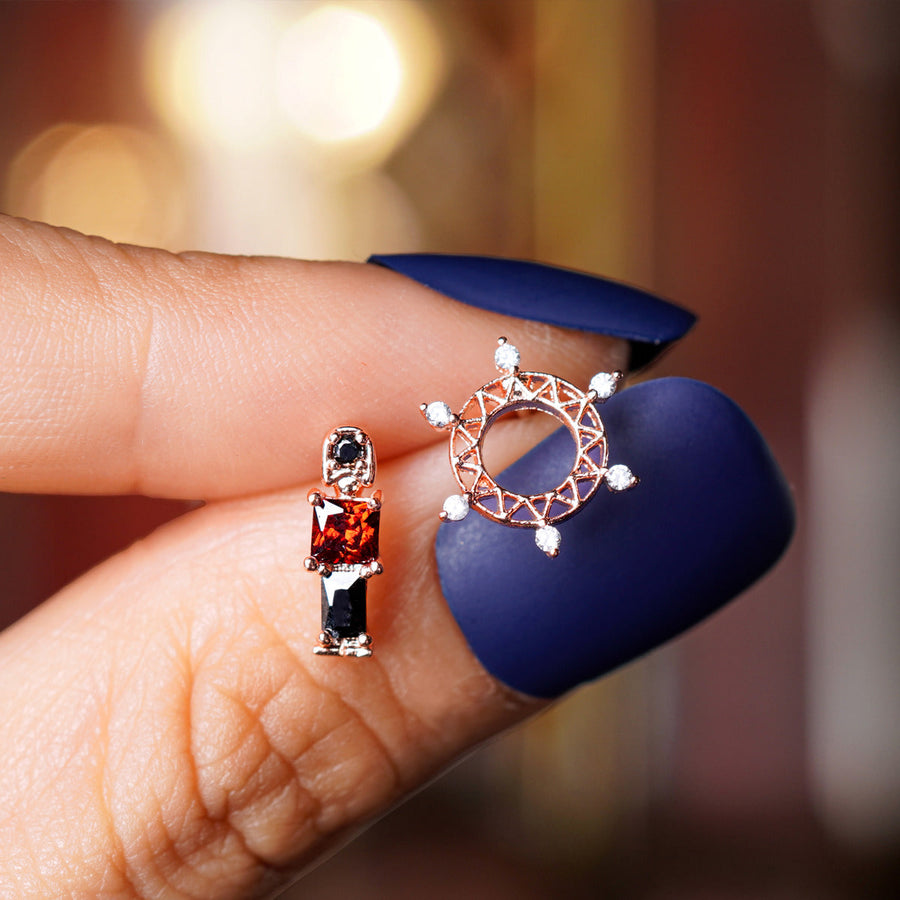 LONDON LADY Earring/Piercing Set