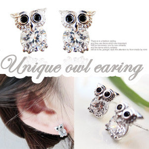 UNIQUE OWL Earring - Wingbling Global