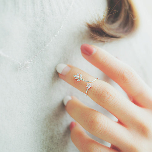 ANNE Knuckle Ring (free size) - Wingbling Global