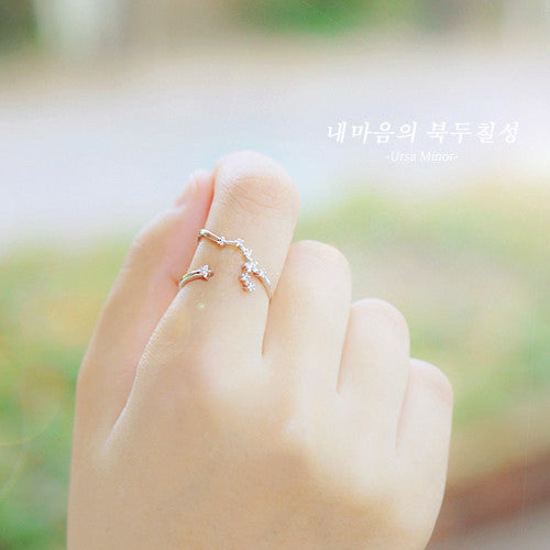 THE BIG DIPPER Ring (free size) - Wingbling Global