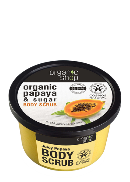 Organic Shop Juicy Papaya Body Scrub 250ml