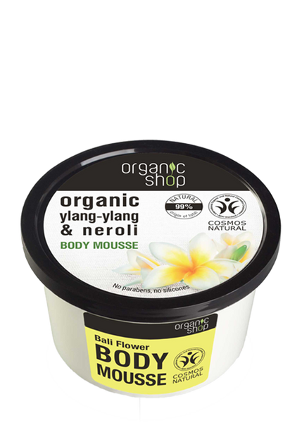 Organic Shop Bali Flowers Body Mousse 250ml