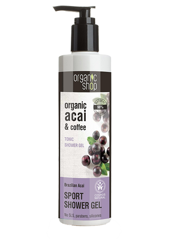 Organic Shop Brazilian Acai Tonic Shower Gel 280ml