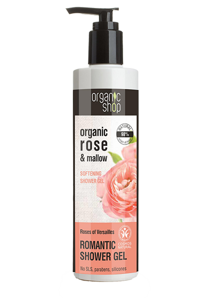 Organic Shop Roses of Versailles Softening Shower Gel 280ml