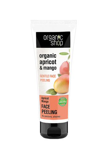 Organic Shop Apricot and Mango Face Peel 75ml