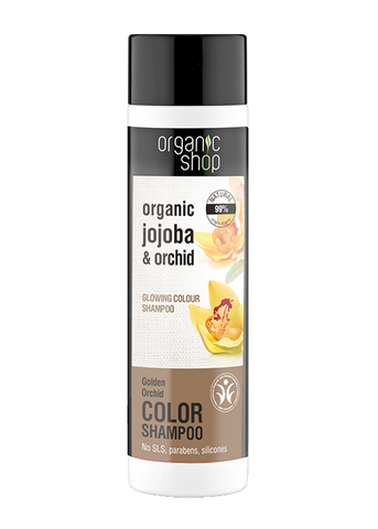 Organic Shop Golden Orchid Colour Protection Shampoo 280ml