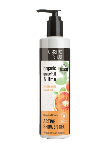 Organic Shop Grapefruit Punch Invigorating Shower Gel 280ml