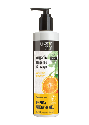 Organic Shop Tangerine Storm Energising Shower Gel 280ml