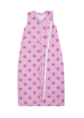 JoJo Maman Bebe </br>3-in-1 Sleeping Bag | Pink Star