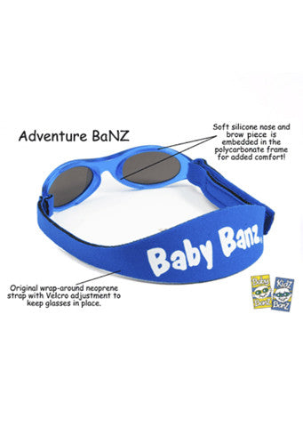 Baby Banz </br>Adventure Banz Sunglasses | Pink
