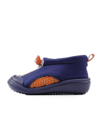 Skidders</br>Sun Grip Shoe - Blue/Orange